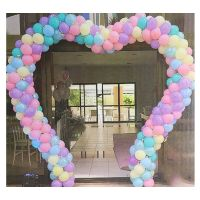 ARCH KIT 9 FT WIDE X 10 FT TALL HEART BALLOON (BALLOONS NOT INCLUDED)