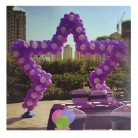 ARCH KIT 9 FT WIDE X 10 FT TALL STAR BALLOON (BALLOONS NOT INCLUDED)