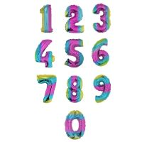 ALL NEW! 40 IN RAINBOW NUMBERS