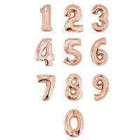 ALL NEW! 40 IN ROSE GOLD NUMBERS