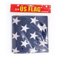 USA FLAG 3X5 FT 100% POLYSTER WITH GROMMETS