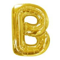 40 IN GOLD LETTER B