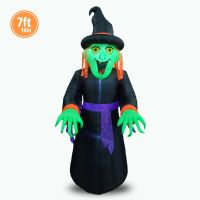HALLOWEEN INFLATABLE 7FT 10IN WITCH